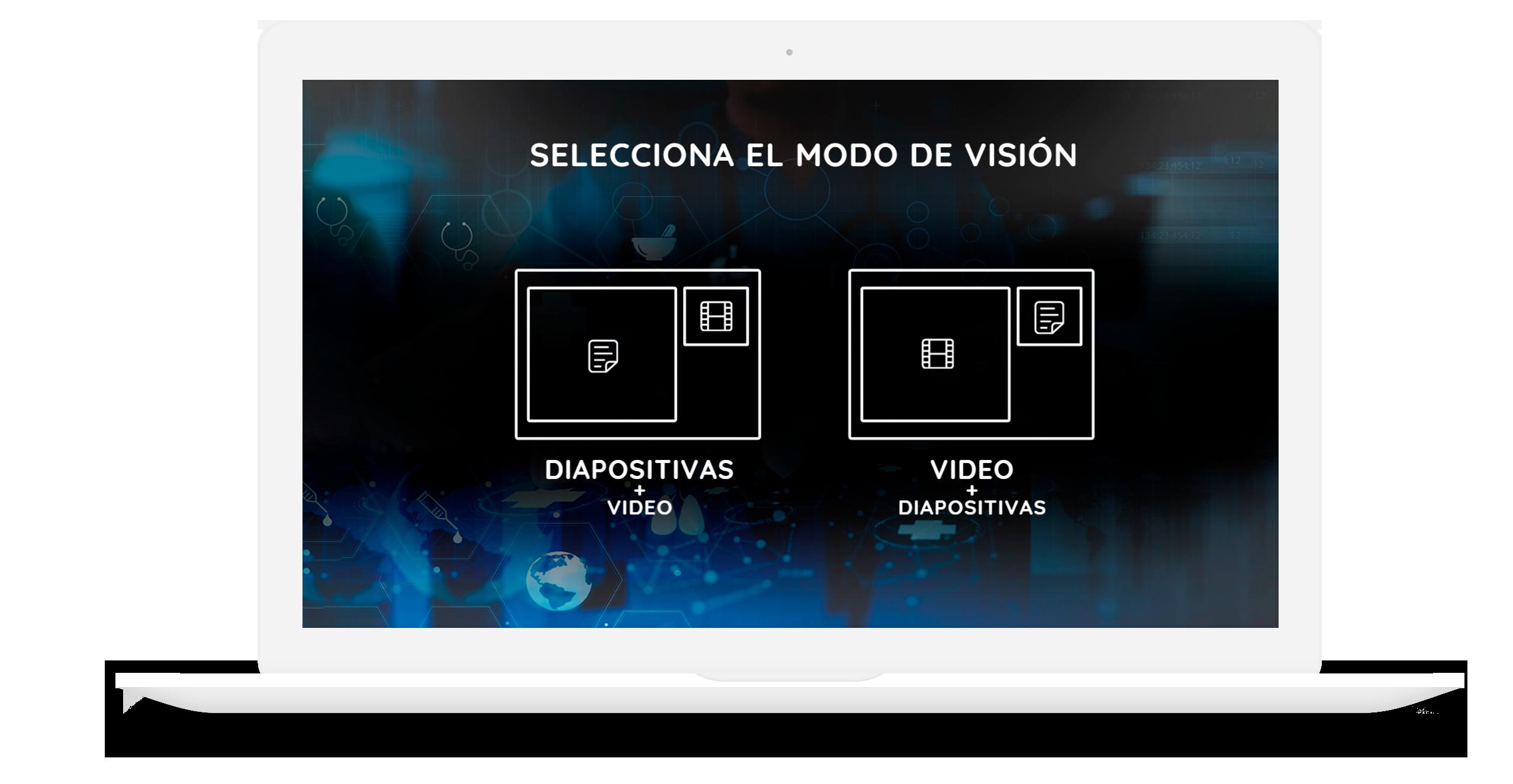 Vídeo formación de una forma atractiva, interactiva y eficaz