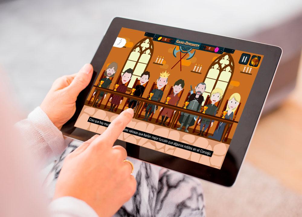 INSERVER ofrece gratis licencias del primer curso gamificado sobre Diversidad, a todo el sector educativo